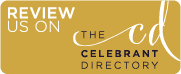 Review us on the Celebrant Directory
